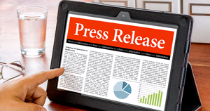 Tablet with example generic press release